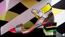 Вофлагманском бутике Christian Louboutin показали «Оптическую иллюзию»