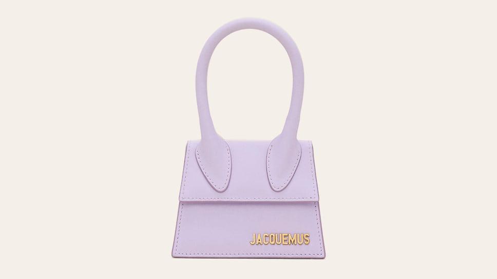 Микро-сумка Le Chiquito бренда Jacquemus