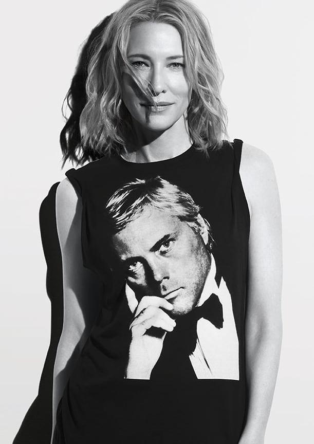 Глобальный амбассадор Giorgio Armani Beauty Кейт Бланшетт
