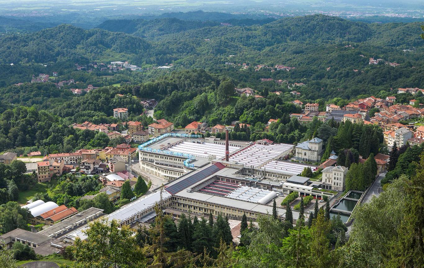 Фабрика Zegna в Италии