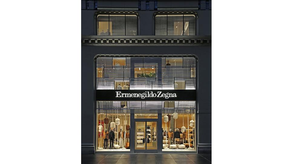 Флагманский магазин Ermenegildo Zegna в Нью-Йорке