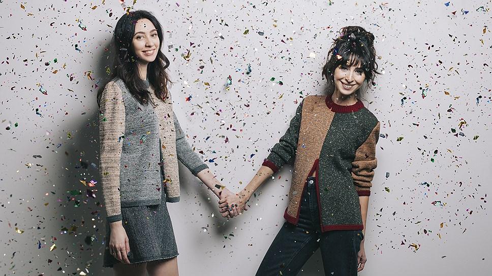 Основатели интернет-магазина More is Love Нино Элиава (справа) и Ани Мокиа.