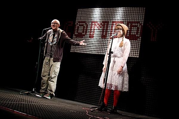 Спектакль «Комедия» на сцене театра «Практика». Постановка И. Вырыпаева