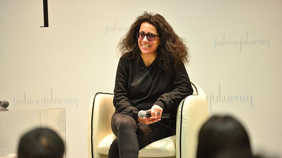 Руководитель проекта Vogue Talents (Италия) Сара Майно на Fashion Futurum 2016