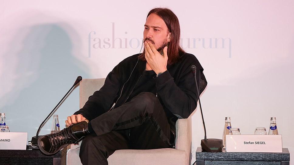 Основатель и генеральный директор платформы Not Just A Label (Великобритания) Стефан Сигель на Fashion Futurum 2016