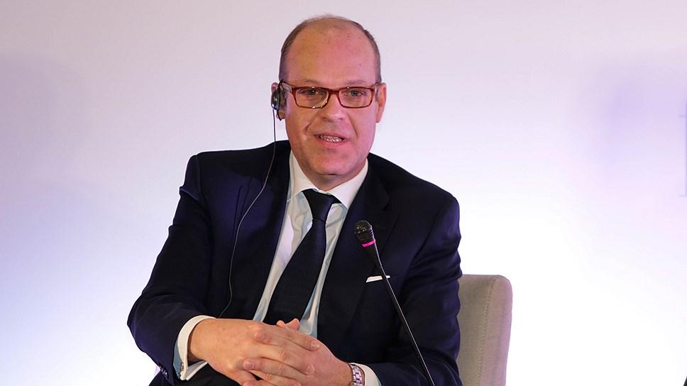 Президент European Branded Clothing Alliance EBCA (Брюссель), генеральный директор Grupo Cortefiel (Испания) Игнасио Сиерра на Fashion Futurum 2016