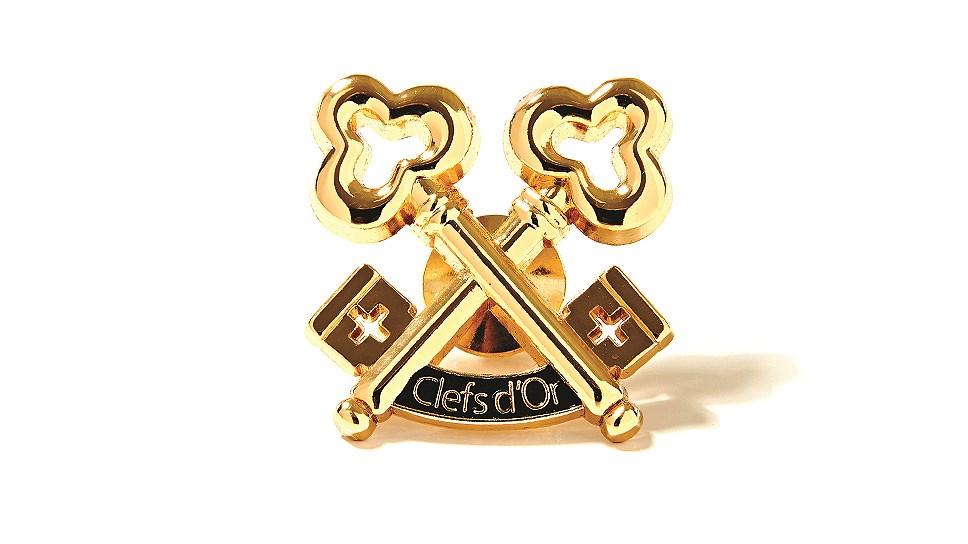 Знак отличия ассоциации «Золотые ключи»