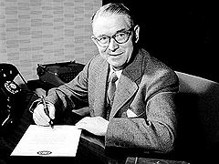 Первый конструктор LEGO — знаменитый Оле Кирк Кристиансен, 1957 год