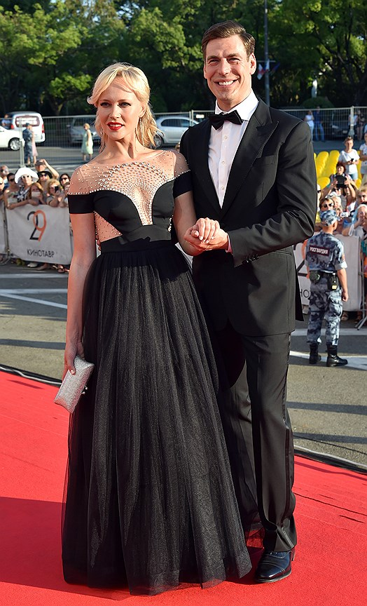 Актер Дмитрий Дюжев с женой Татьяной Зайцевой
