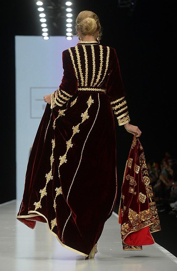 Восточный модный показ: коллекция Houda Benmlih