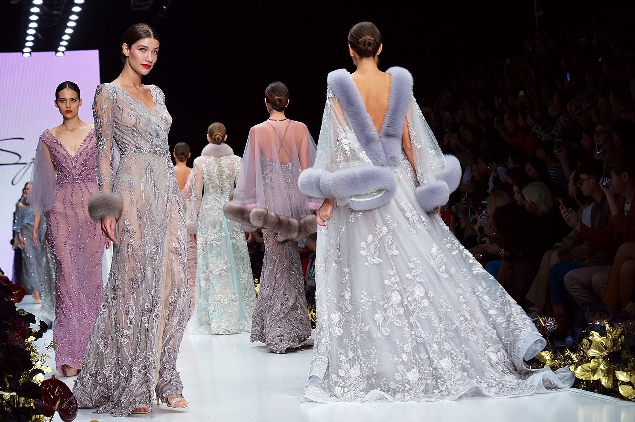 Показ коллекции свадебного бренда Speranza Couture by Nadezda Yusupova