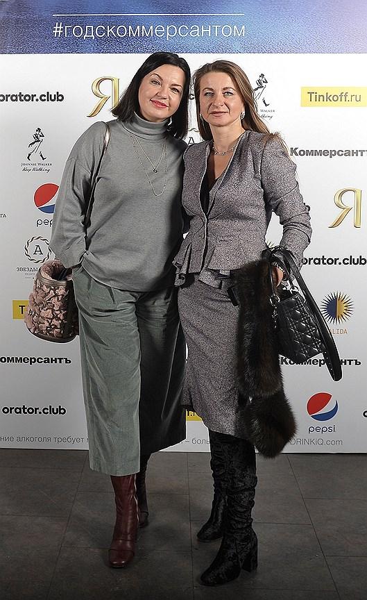 Генеральный директор Propaganda GEM Элина Буторина (слева)