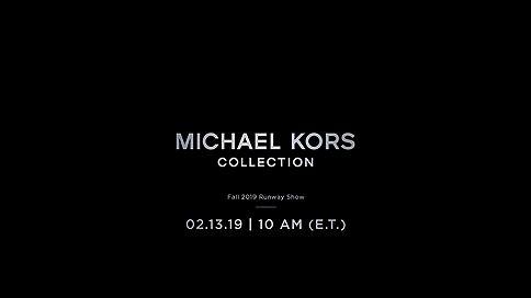 Прямая трансляция показа Michael KORS Collection, осень 2019 // Шоу стартует в18:00 помосковскому времени