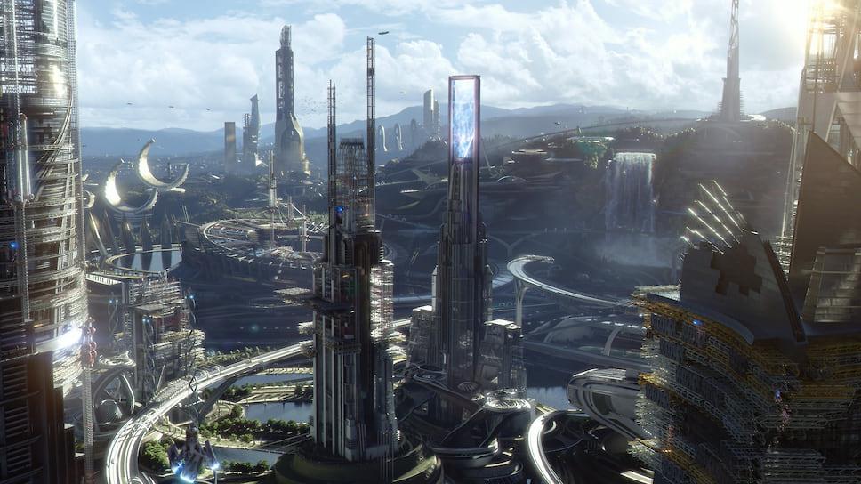 Кадр из фильма «Земля будущего», 2015