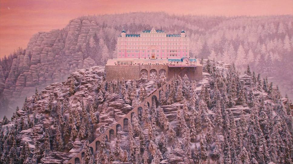Кадр из фильма «Отель Гранд Будапешт», 2014