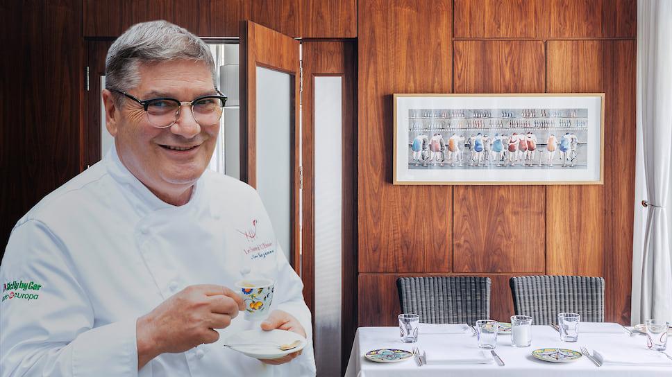 Обладатель двух звезд «Мишлен» Нино Грациано о популяризации итальянской кухни и русских клиентах