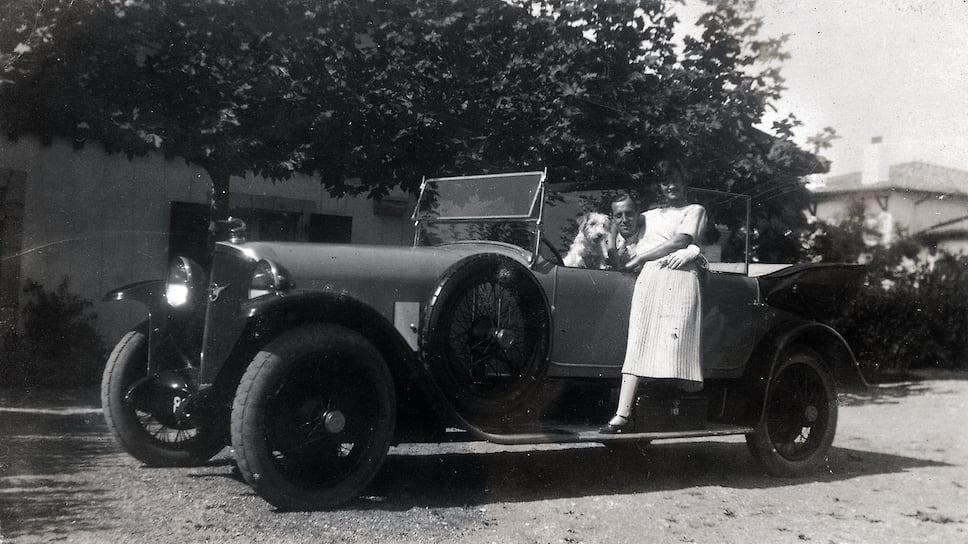 Габриэль Шанель и великий князь Дмитрий Павлович, 1924 год