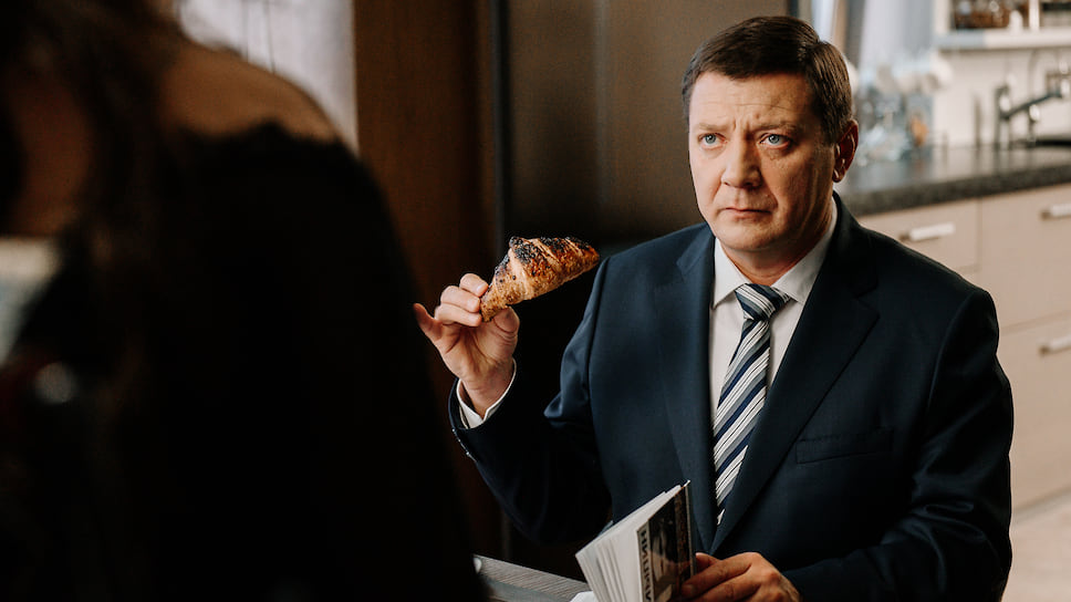 Кадр из фильма (сериала) «Последний министр», режиссер Роман Волобуев, 2020. Актер Ян Цапник