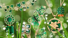 Растительная жизнь  / 13украшений сзелеными камнями