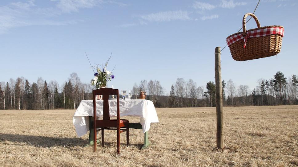 Пара из Швеции открыла ресторан для одного гостя на лугу