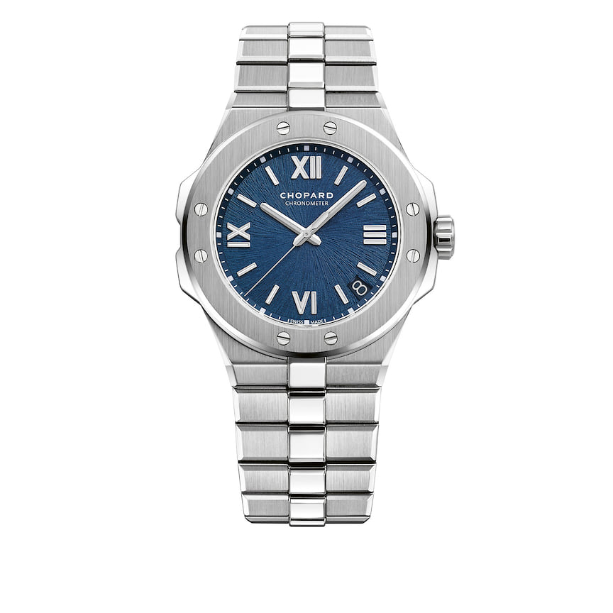 Мужские часы Chopard, коллекция Alpine Eagle, 41 мм, механизм с автоматическим подзаводом, сталь, <br> 1 034 900 руб., tsum.ru