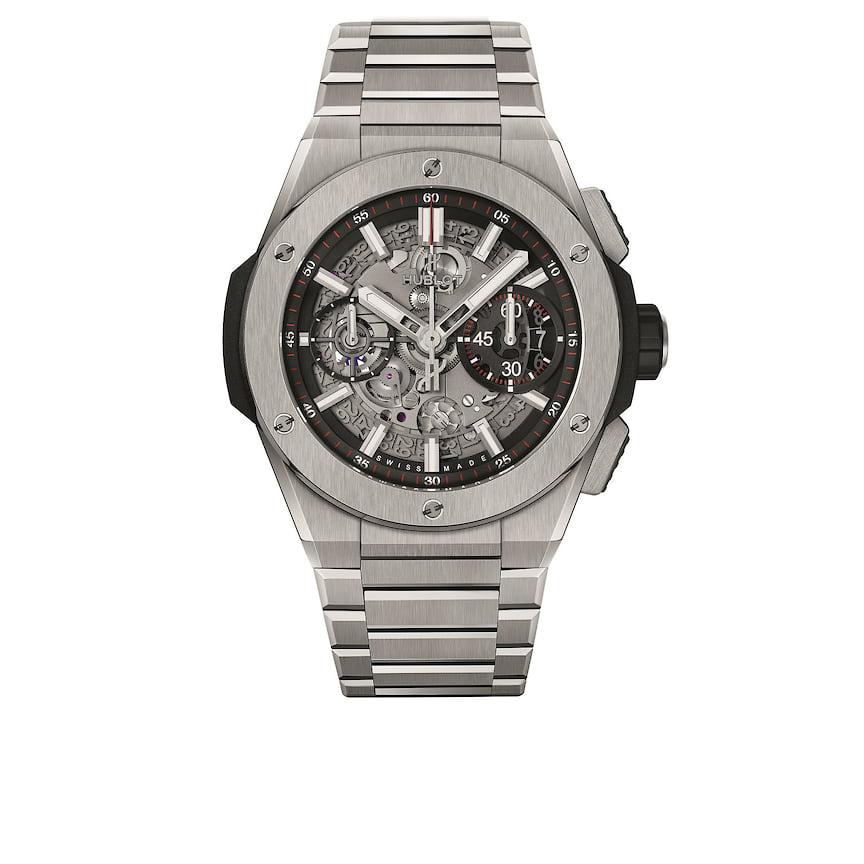 Мужские часы Hublot Big Bang Integral Titanium, 42 мм, титан, механизм с автоматическим подзаводом, 1 713 800 руб., tsum.ru