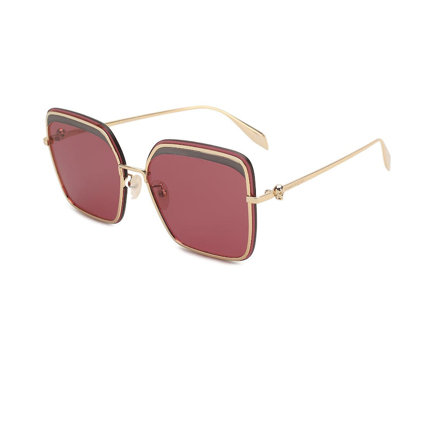 Alexander McQueen, солнцезащитные очки, 31 850 руб., tsum.ru