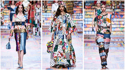 Отпечаток натех, кто идет затобой  / Что показали вМилане Dolce &Gabbana иDsquared2