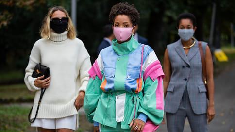 Вцвет маски  / Как одевались гости Миланской недели моды