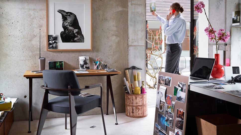 Jean Prouve, письменный стол, цена по запросу, vitra.com