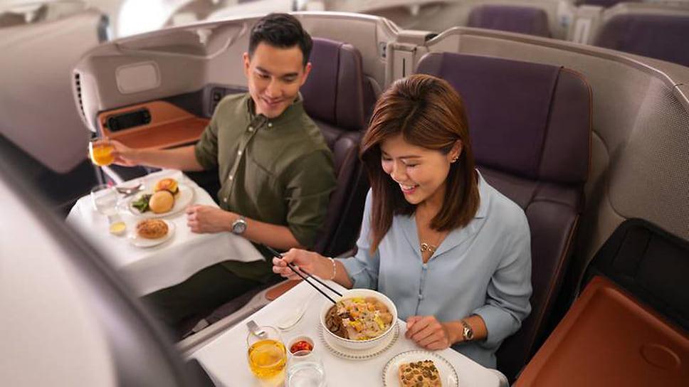 Изсамолета вресторан  / Singapore Airlines из-за пандемии временно переоборудовала два самолета Airbus A380в рестораны