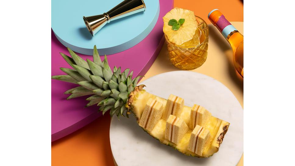 Вариация на тему ананасового пирога, созданная Домиником Анселем