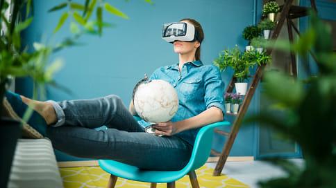 Невыходя издома  / Все более популярным становится VR-туризм