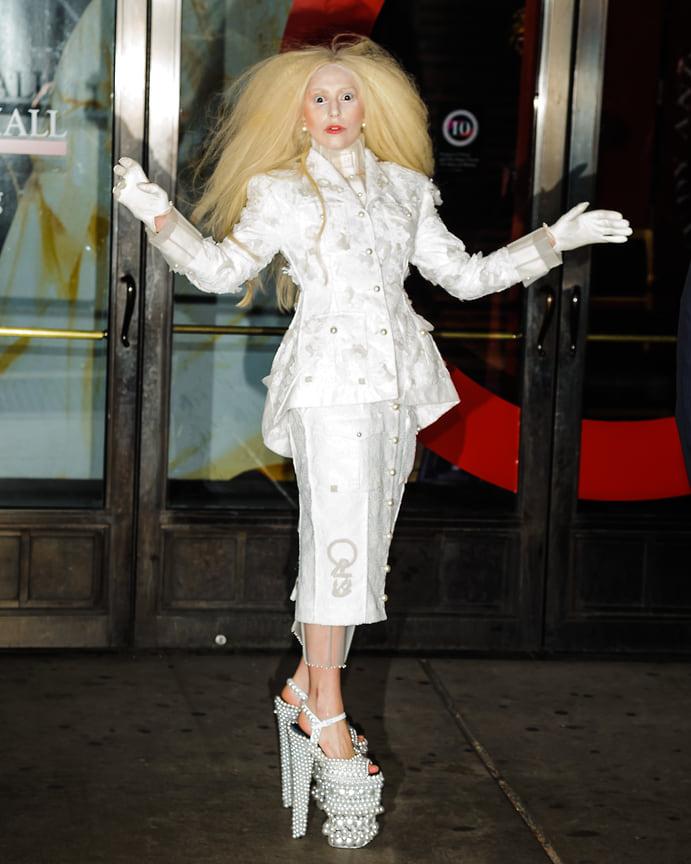 Леди Гага в Нью-Йорке, 2013 год