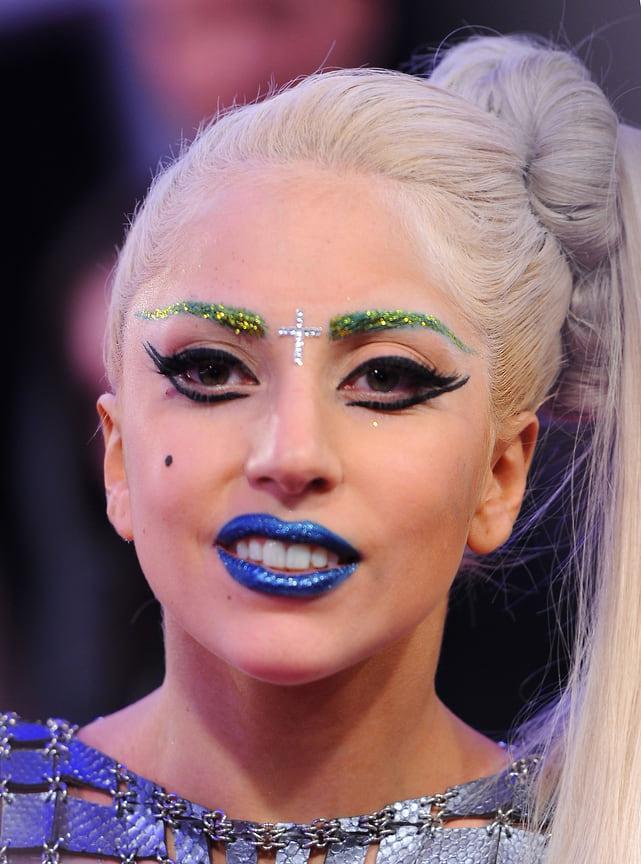 Леди Гага на пресс-конференции MTV European Music Awards 2011 в Белфасте, Северная Ирландия, 2011 год