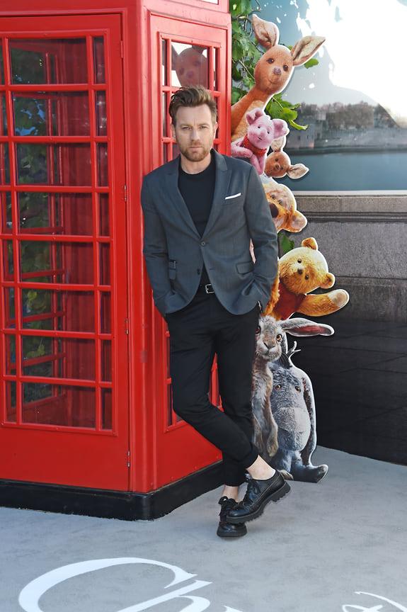 Юэн МакГрегор на премьере фильма «Кристофер Робин», Лондон, 2018 год