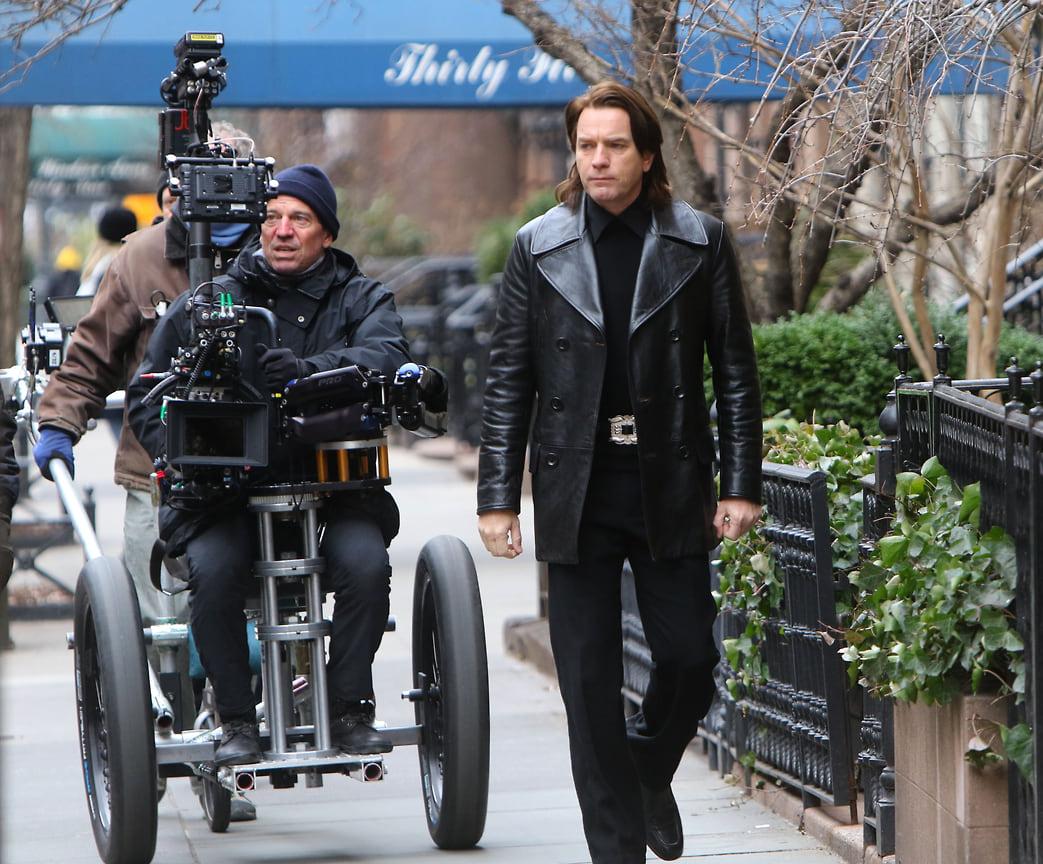 Юэн МакГрегор на съемках фильма «Холстон» в Нью-Йорке, 2020 год