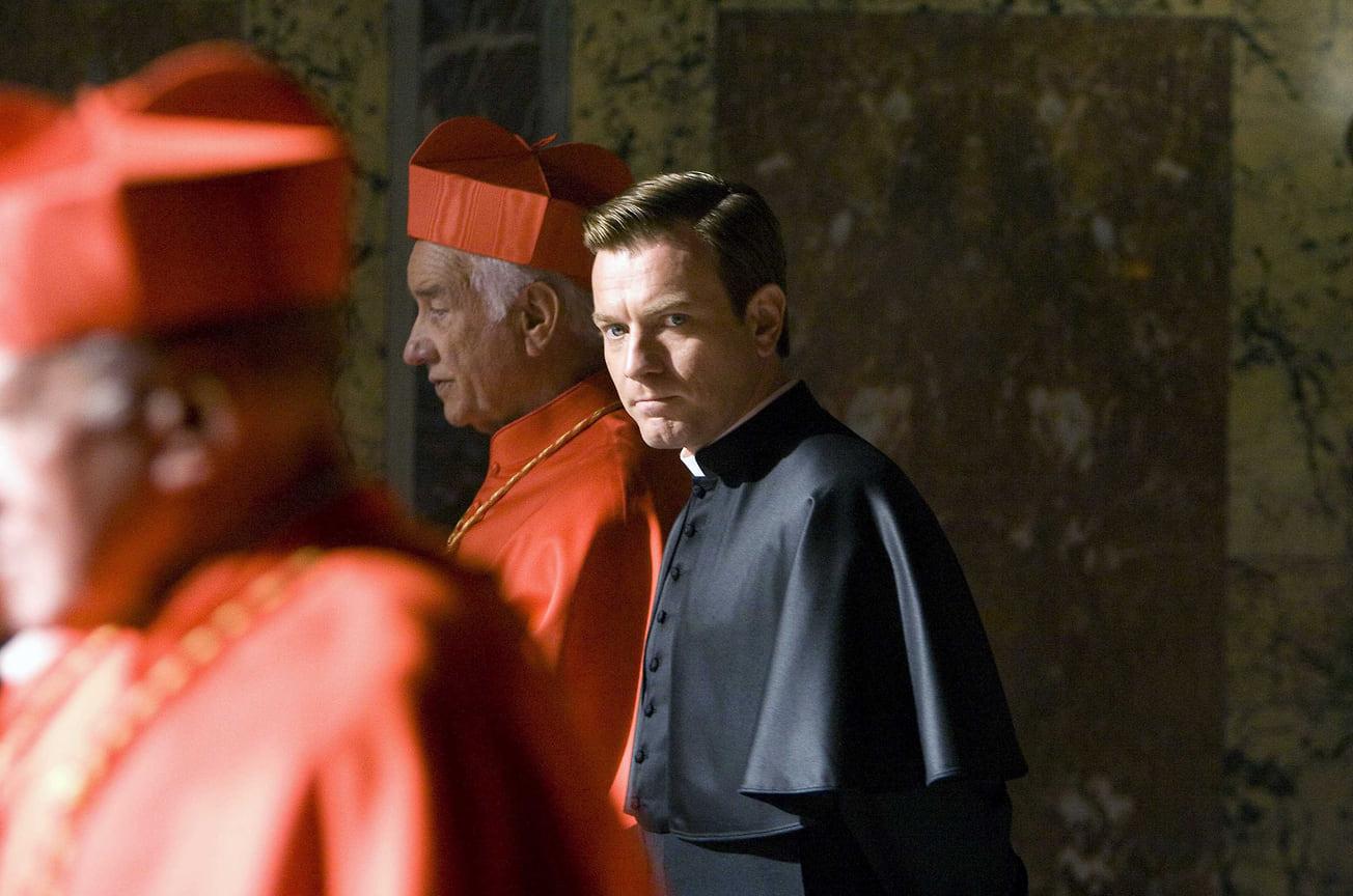 Кадр изфильма «Ангелы идемоны», 2009 год