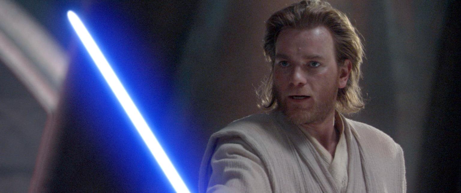 Юэн МакГрегор вфильме «Звездные войны. Эпизод II: Атака клонов», 2002 год