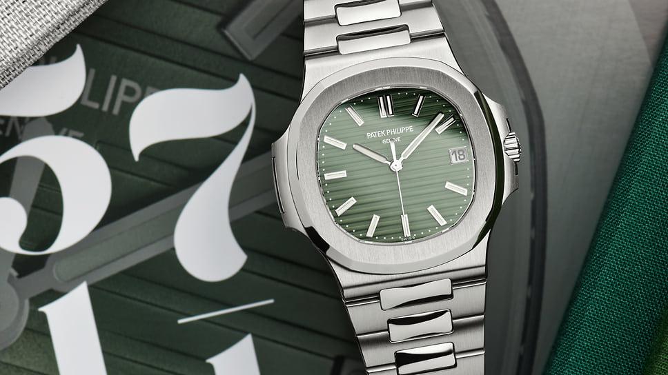 Patek Philippe, часы Nautilus Ref. 5711/1A-014, сталь, 40 мм, автоматический механизм