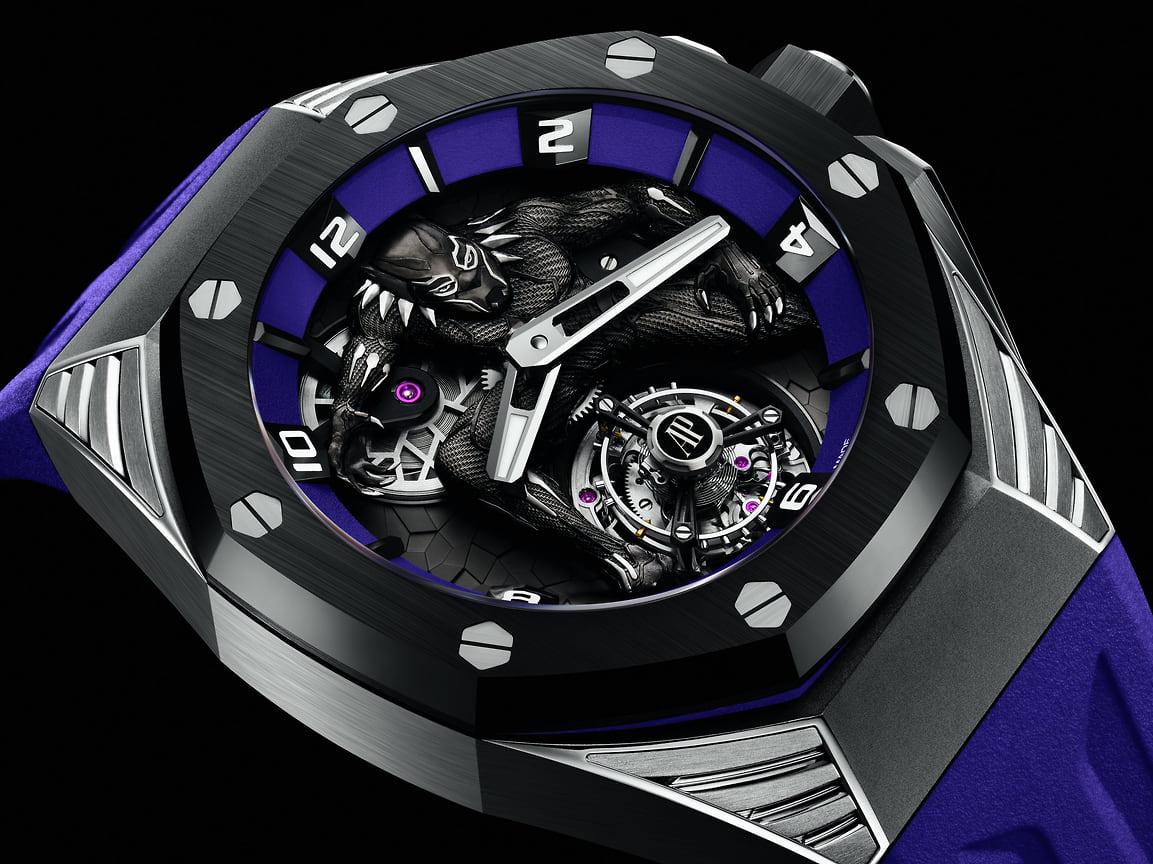 Audemars Piguet Royal Oak Concept «Black Panther», титан и керамика, 42 мм, механизм с ручным заводом, лимитированная 250 экземплярами серия
