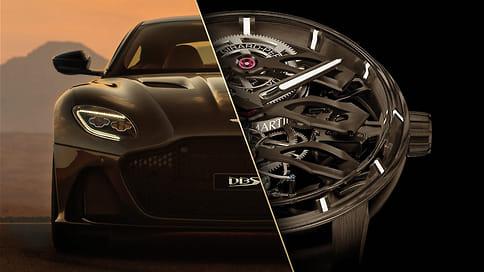 Джентльмены, заводите турбийоны!  / Часовая марка Girard-Perregaux примкнула кавтомобильной Aston Martin внужный момент