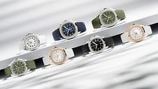 Великолепная семерка Aquanaut  / Самые летние часы Patek Philippe