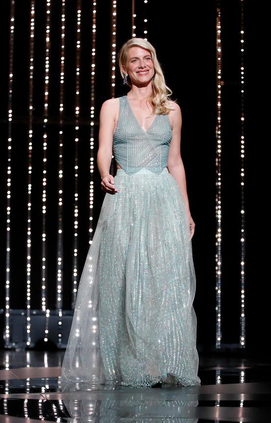 Актриса и член жюри основного конкурса Мелани Лоран в платье Armani Prive и украшениях Cartier