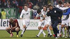 Десятки миллионов долларов, вложенные в российскую сборную, не помешали команде Словении обойти ее на пути на чемпионат мира