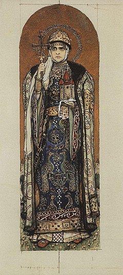 Языческая безжалостность первой русской правительницы княгини Ольги не помешала ей стать первой русской святой