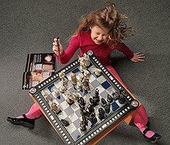 Чтобы собрать волшебные шахматы Гарри Поттера, нужно было потратить около семи тысяч рублей. Сегодня их можно купить за 15 000-20 000 руб.