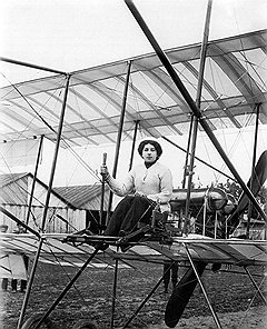 Даже самые ломкие аэропланы не сломили стремление Лидии Зверевой стать первой в России женщиной-пилотом