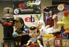 Заработав на комиссиях, eBay начал выпуск продукции под своим брендом, например настольных и карточных игр