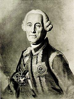 Фельдмаршал Миних построил свое благополучие из материалов, похищенных на строительстве Ладожского канала